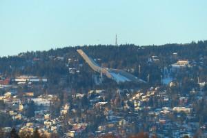 ... und der Holmenkollen ... (ich glaub nächstes WE ist Biathlon da oben - hmmmmm)