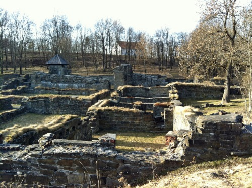 Die Ruinen des Kloster Hovedøya, ein Zisterzienserkloster. Von 1147 bis 1532 bewohnt.
