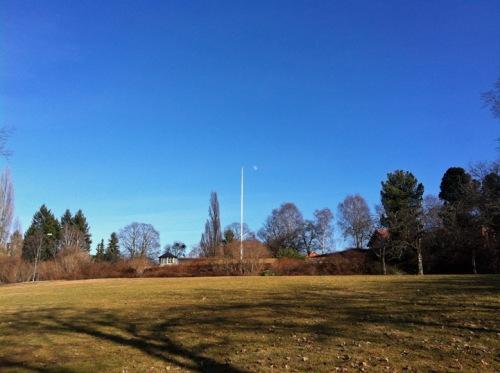 Botansik Hage (Botan. Garten) - hier bin ich auf den Frühling gespannt.