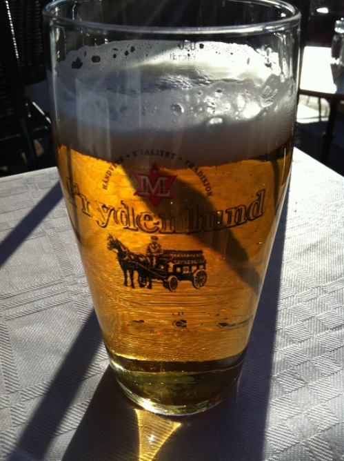 Frydenlund - Pils aus einer hiesigen Brauerei
