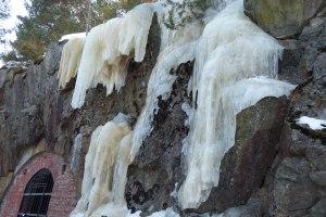 Eisfall auf Kaholmen