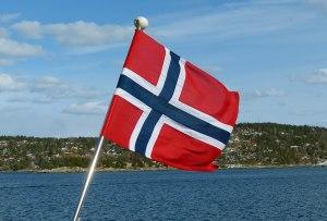 und die darf natürlich nicht fehlen: das Skandinavische Kreuz mit weißer Kontur auf Rotem Grund