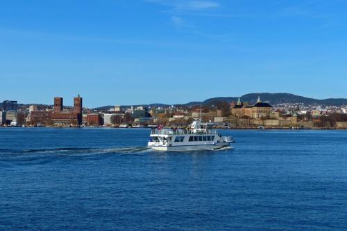 Das Fährboot zu den kleinen Inseln