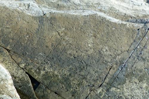 Felszeichnungen - oder: Die Natur hinterlässt seltsame Spuren