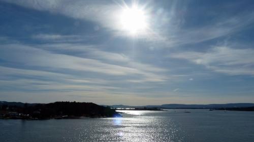 Sonne über dem Fjord - Teil 2