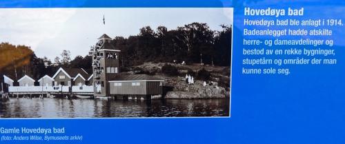 Das Gamle Bad existiert leider nicht mehr. Aber die Strände sind offizielle Badeplätze.