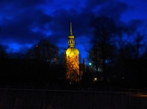 Domus Medica - Turm der alten Medizinischen Fakultät