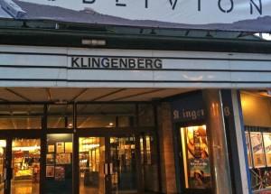 Nanu - sind haben wir uns soweit verfahren?? Klingenberg liegt doch eigentlich am Main bei Miltenberg?? Hier in Oslo heissen eine Strasse und ein Kino auch Klingenberg :-)