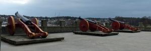 Festungswallkanonen