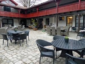 Innenhof vom Café