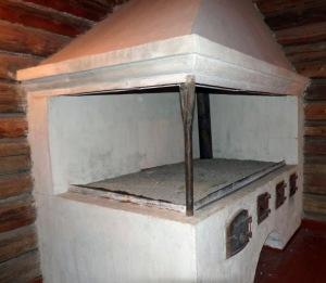 Bergbaumuseum: So wurde früher gekocht (Unterkunft der Bergleute)