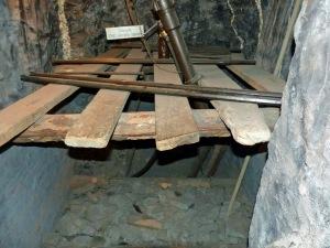 Bergbaumuseum: Schacht in der Grube