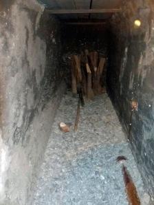 Bergbaumuseum: alter Stollen