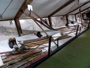 Skimuseum: Vorsintflutliche Skier