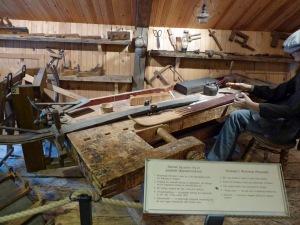 Skimuseum: Herstellung eines Ski's