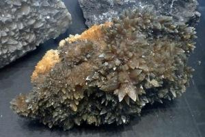 Mineraliensammlung Kongsberg: Quarz oder Calcit