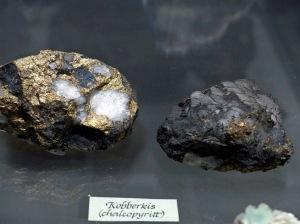 Mineraliensammlung Kongsberg: Kupferkies