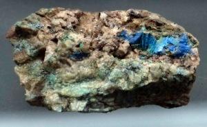 Mineraliensammlung Kongsberg: Azurrit ?