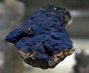 Mineraliensammlung Kongsberg: Azurrit