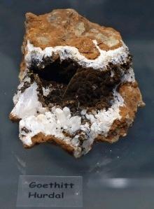 Mineraliensammlung Kongsberg: Goethit