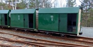 Bergbaumuseum Kongsberg: Zug in die Silbermine