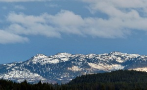 Schnee im Hochfjell