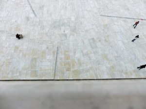 Oslo Oper: Blick über die Brüstung