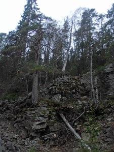 Die Erosion schreitet voran