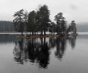 Gespiegeltes Inselchen