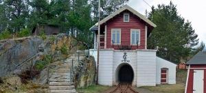 Eingang zur Silbermine (Bergbaumuseum Kongsberg)