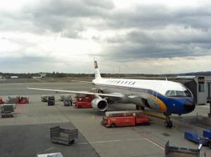 Lufthansa im Retro-Style