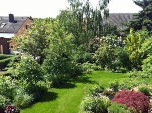 Garten Buchbrunn bei meinen Eltern