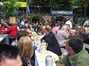 Erlanger Berch 2013: Frühschoppen