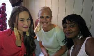 Sommerfest: Inger-Marie, Anne und Alice