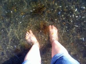 Bygdøy-Ausflug: Nach 6 Monaten habe ich das erste Mal meine Füße im Kalten Fjord