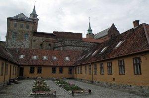 Kasernenhof von Akershus Festung