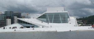 Der Eisberg/Gletscher im Östlichen Hafenbecken - neue Oper