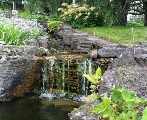 Bachlauf im Botanisk Hage.