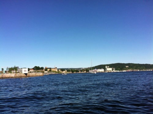 Sommer am Fjord