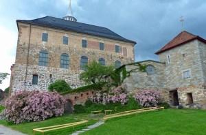 Akershus Festung im Sommer