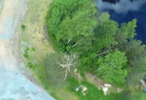 """auf einigen der folgenden Bilder probierte ich den """"Miniatureffekt"""" meiner Kamera aus. Direkt unterhalb des Sprungturms der großen Holmenkollen Schanze. PS: Oslo bewirbt sich um die Olympischen Winterspiele 2022 - *Freu*"""