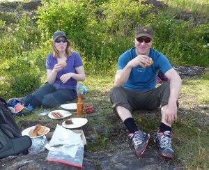 Grill-Picknick auf Hovedøya