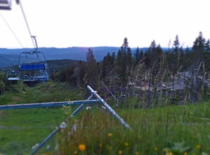 Oslo Vinterpark - im Sommer ein Kletterpark und Ausflugsparadies.