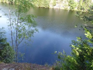 Tiefblaue Seen noch und nöcher...