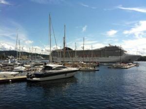 Noch mehr Kreuzfahrer in Oslo