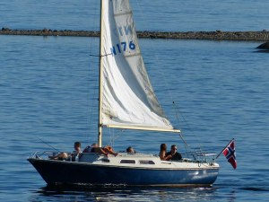 So ziemlich jeder 2. Norweger scheint ein Boot zu haben...