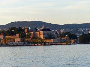 ... und an der Akershus Festung ...