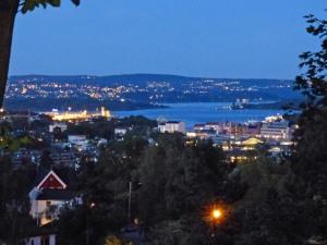 ... ueber Oslo.