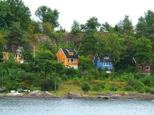 ... auf den Fjordinseln.