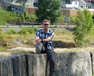 Urlauber in Kongsberg